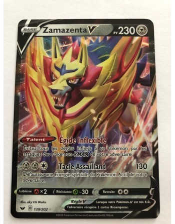 "Carte Pokemon ""Zamazenta V""..."